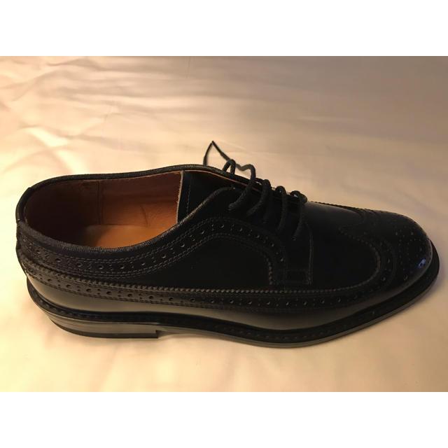 匿名配送 ウイングチップ ブラック イトー 日本製 25.5cm EEE メンズの靴/シューズ(ドレス/ビジネス)の商品写真