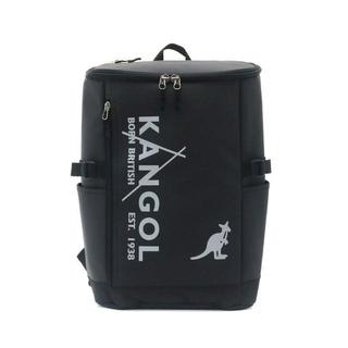 カンゴール(KANGOL)の新品送料無料KANGOL(カンゴール)スクエアリュック ブラック/シルバー23L(バッグパック/リュック)