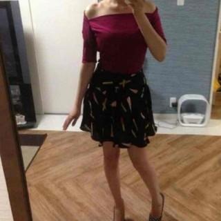 バービー(Barbie)のBarbie♡ シルクスカート USA (ひざ丈スカート)