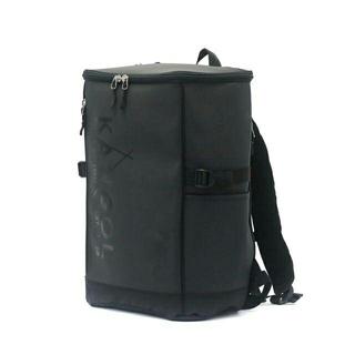 カンゴール(KANGOL)の新品送料無料KANGOL(カンゴール)スクエアリュック ブラック/ブラック23L(バッグパック/リュック)