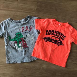 ベビーギャップ(babyGAP)のbabyGap ・西松屋 Tシャツ 2枚セット 80(Tシャツ)