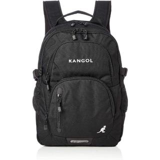 カンゴール(KANGOL)の新品送料無料KANGOLカンゴールリュック 防水レインカバー付属軽量PC収納黒(バッグパック/リュック)