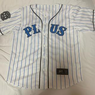 AAA - AAA ベースボールシャツ 青 與真司郎