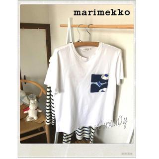 マリメッコ(marimekko)のmarimekko kioski キオスキ Hiekka Solid Tシャツ (Tシャツ(半袖/袖なし))