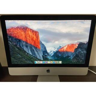 マック(Mac (Apple))のiMac16 1 Core i5 1.6 21.5 inch(ノートPC)