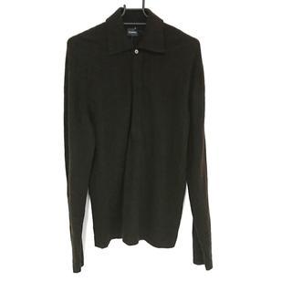 ジルサンダー(Jil Sander)のジルサンダー 長袖ポロシャツ サイズ48 M(ポロシャツ)