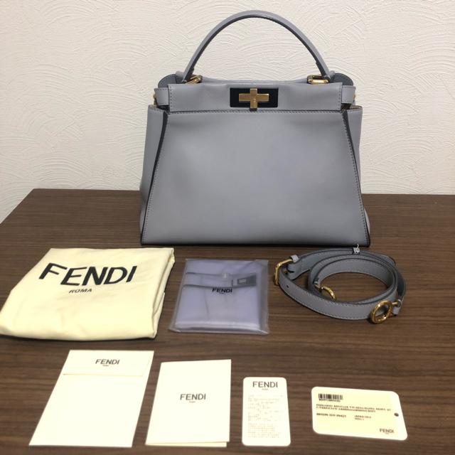 FENDI(フェンディ)のFENDI ピーカブー 2点セット レディースのバッグ(ハンドバッグ)の商品写真