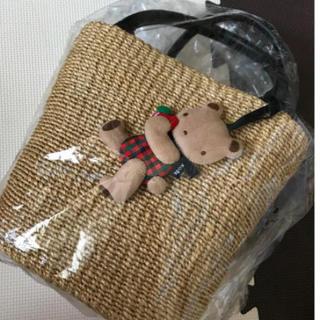 ファミリア(familiar)のfamiliar カゴバッグ  かごバッグ 新品未使用 神戸本店限定(かごバッグ/ストローバッグ)