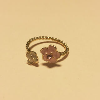 フラワー(flower)のflower リング 指輪(リング(指輪))