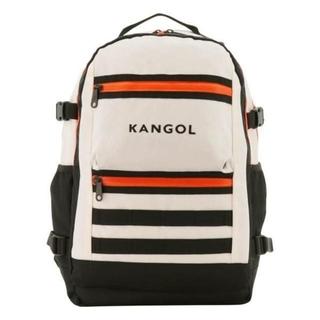 カンゴール(KANGOL)の新品送料無料KANGOL(カンゴール)リュック 多機能 ポケット多数 PC収納白(バッグパック/リュック)