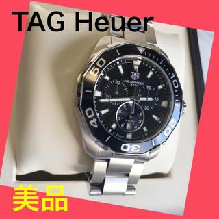 タグホイヤー(TAG Heuer)の【美品】TAG Heuer タグホイヤー アクアレーサー クロノグラフ 腕時計(腕時計(アナログ))