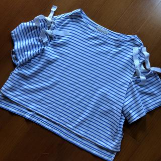 JILLSTUART - JILLSTUART ジミーショルダーリボンカットソー Tシャツ