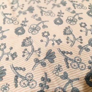 ミナペルホネン(mina perhonen)のミナペルホネン check&stripe ピンク ハギレ(生地/糸)