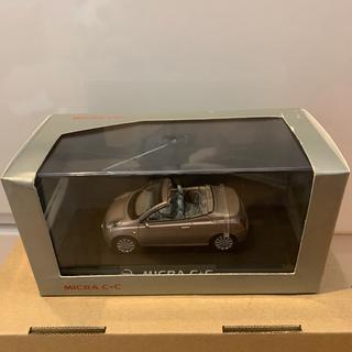 ニッサン(日産)の左ハンドル(LHD) 1/43 Nissan MICRA C+C 日産マイクラ(ミニカー)
