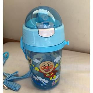 アンパンマン - ♡新品♡ アンパンマン 水筒 ストロー付き 水色