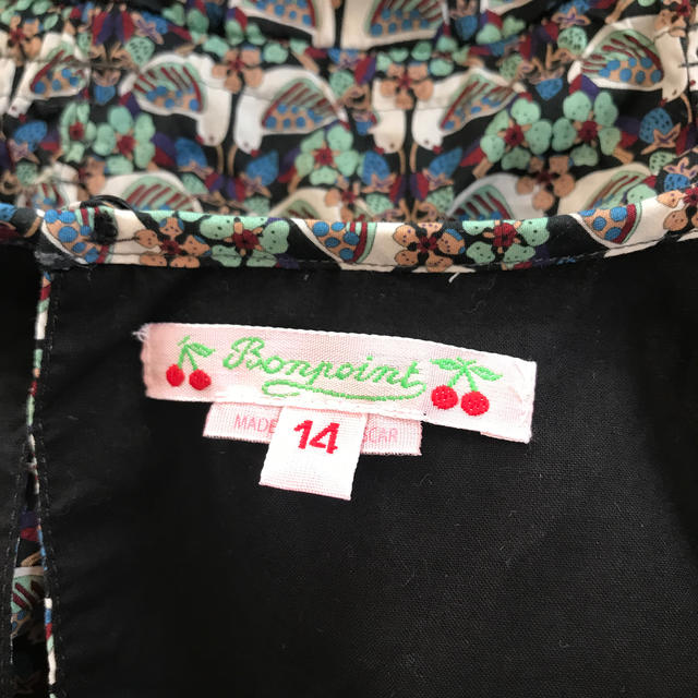 Bonpoint(ボンポワン)のボンポワン リバティワンピース 14歳 キッズ/ベビー/マタニティのキッズ服女の子用(90cm~)(ワンピース)の商品写真