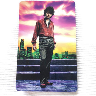 エグザイル(EXILE)のEXILE TAKAHIRO カード(ミュージシャン)