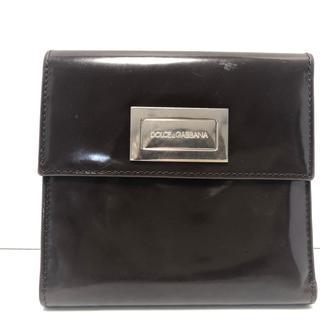 ドルチェアンドガッバーナ(DOLCE&GABBANA)のドルチェアンドガッバーナ 3つ折り財布 -(財布)