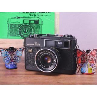 完動品◎ FUJICA DATE BLACK フィルムカメラ