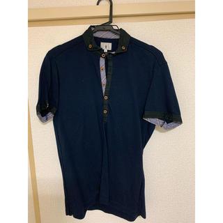 ティーケー(TK)のポロシャツ ネイビー TK(ポロシャツ)