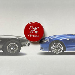 ビーエムダブリュー(BMW)のBMW M  F10 F20 F30対応 プッシュスタートボタン 赤(車種別パーツ)