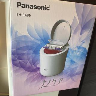 Panasonic - パナソニック スチーマー ナノケア W温冷エステ ピンク調 EH-SA96-P