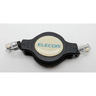 エレコム(ELECOM)のElecom製 ポータブル テレホンコード(その他)