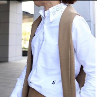 マディソンブルー(MADISONBLUE)のMADISONBLUE★MADISONメッセージプリントシャツ(シャツ/ブラウス(長袖/七分))