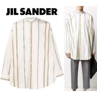ジルサンダー(Jil Sander)の12日限定価格 Jil Sander ファンタジアシャツ マンダリン(シャツ)