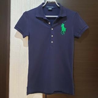 ラルフローレン(Ralph Lauren)のラルフローレン ポロシャツ レディース S スリム ビッグポロ ゴルフ(ポロシャツ)