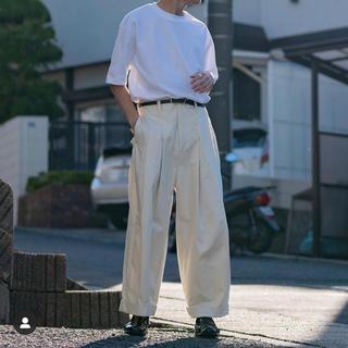 SUNSEA - 20ss SHINYA KOZUKA シンヤコヅカ バギー パンツ