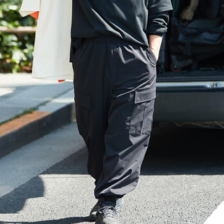 1LDK SELECT - DAIWA PIER39 カーゴパンツ ブラック Mサイズ
