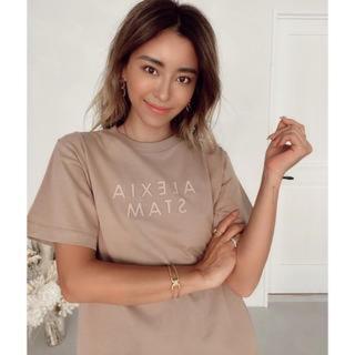 アリシアスタン(ALEXIA STAM)の新品 ALEXIASTAM♡アリシアスタン 3D ロゴTシャツ 16日で削除(Tシャツ(半袖/袖なし))
