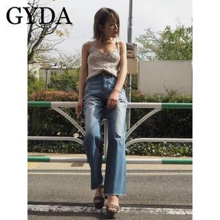 GYDA - GYDA ワイドフレアデニムパンツ