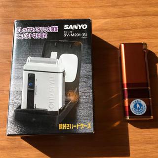 サンヨー(SANYO)の電気シェーバーSV-M201 未使用品‼️おまけ(メンズシェーバー)