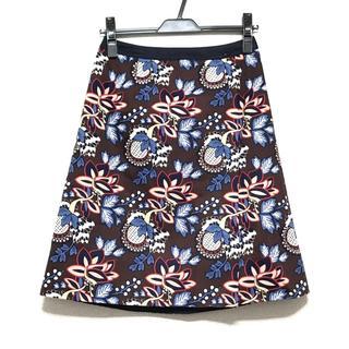 ローラアシュレイ(LAURA ASHLEY)のローラアシュレイ スカート サイズ1 S 花柄(その他)