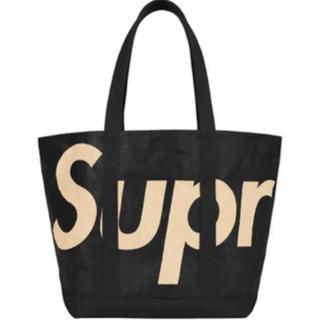 Supreme - supreme Raffia Tote トートバッグ ブラック シュプリーム