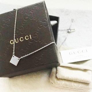 Gucci - ☆新品☆未使用☆Gucci グッチ スクエアタグ ネックレス ミニ