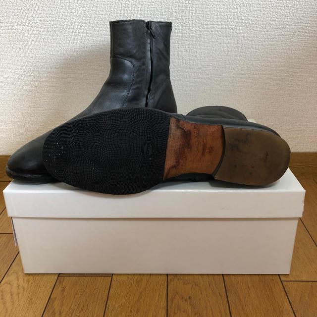 Maison Martin Margiela(マルタンマルジェラ)のmaison martin margiela×H&M サイドジップ メンズの靴/シューズ(ブーツ)の商品写真
