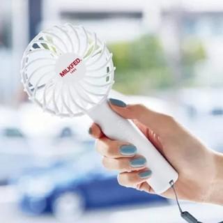 ミルクフェド(MILKFED.)の【未開封発送】SPRiNG 7月号♡MILKFED.♡ミニ扇風機(扇風機)