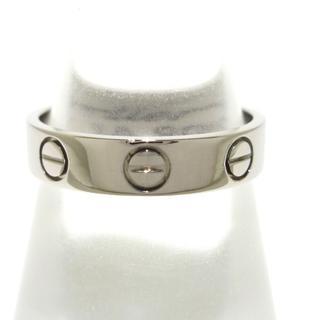 カルティエ(Cartier)のカルティエ リング 47美品  ミニラブ K18WG(リング(指輪))