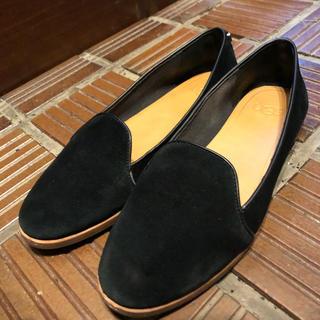 アグ(UGG)のUGG  スエードフラットローファー BONNIE  23cm(ローファー/革靴)