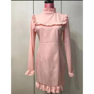 EATME - 新品 ワンピース ピンク ドレス イートミー  キャバ スワンキス 韓国