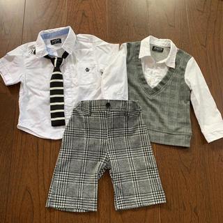 ニシマツヤ(西松屋)の男児フォーマル3点セット(ドレス/フォーマル)