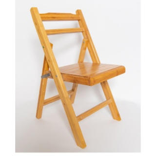 フランフラン(Francfranc)の新品✨おしゃれ✨竹素材の折りたたみチェア❗️フォールディングチェア(折り畳みイス)