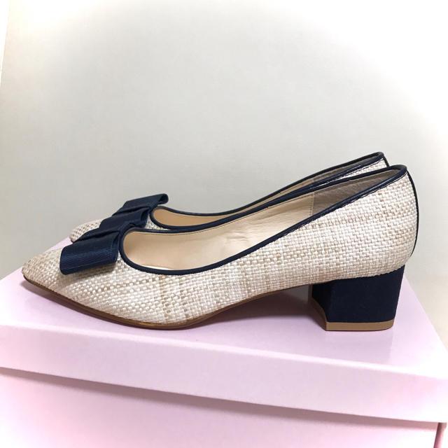 DIANA(ダイアナ)の4㎝ DIANA  ダイアナ  銀座かねまつ ミュウミュウ ランバンオンブルー レディースの靴/シューズ(ハイヒール/パンプス)の商品写真