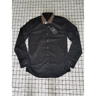 フェンディ(FENDI)のフェンデイFendi シャツ メンズ ブラック(シャツ)