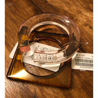 ビームス(BEAMS)のB:MING ビームス 2セットアクリルハングル ピンク 夏 新品(ブレスレット/バングル)