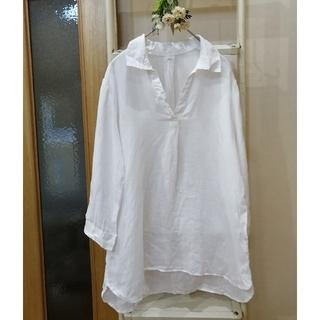 ムジルシリョウヒン(MUJI (無印良品))の無印良品*リネンスキッパーシャツ(シャツ/ブラウス(長袖/七分))