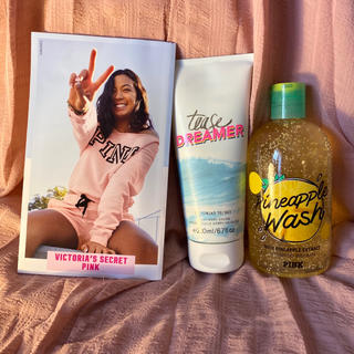 Victoria's Secret - ヴィクトリアシークレット ボディローション、PINK ボディウォッシュセット
